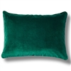 Elitis Eurydice CO 122 45 03 velvet solid color candy apple green throw pillow.  Click for details and checkout >>