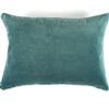 Elitis Eurydice CO 122 81 03 velvet solid color sea foam green green throw pillow.  Click for details and checkout >>
