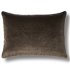 Elitis Eurydice CO 122 87 03 velvet solid color camel brown throw pillow.  Click for details and checkout >>