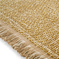 Elitis Havana Curry.  Oatmeal jute and chenille luxurious area rug.  Click for details and checkout >>