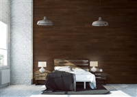 Umber Brown Real Wood Peel and Stick Wall Planks.  Click for details and checkout >>