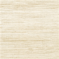 Elitis Panama VP 710 03.   Tan infused color sisal stripe vinyl textured wallpaper.  Click for details and checkout >>