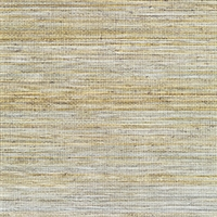 Elitis Panama VP 710 09.   Prairie yellow infused color sisal stripe vinyl textured wallpaper.  Click for details and checkout >>