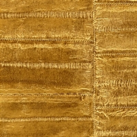 Elitis Anguille VP 424 06.  Gold Faux Eel Skin Wallpaper.  Click for details and checkout >>
