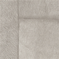 Elitis Indomptee VP 618 04.  Gray faux fur embossed wallpaper.  Click for details and checkout >>