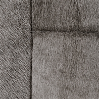 Elitis Indomptee VP 618 05.  Dark gray faux fur embossed wallpaper.  Click for details and checkout >>