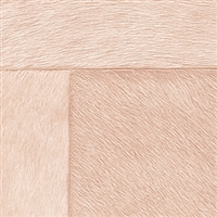 Elitis Indomptee VP 618 07.  Peach faux fur embossed wallpaper.  Click for details and checkout >>