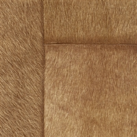 Elitis Indomptee VP 618 09.  Mocha brown faux fur embossed wallpaper.  Click for details and checkout >>