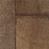 Elitis Indomptee VP 618 10.  Dark brown faux fur embossed wallpaper.  Click for details and checkout >>