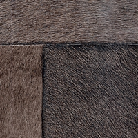 Elitis Indomptee VP 618 14.  Charred brown faux fur embossed wallpaper.  Click for details and checkout >>