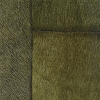 Elitis Indomptee VP 618 15.  Hunter green faux fur embossed wallpaper.  Click for details and checkout >>