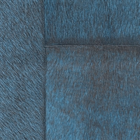 Elitis Indomptee VP 618 17.  Dark blue faux fur embossed wallpaper.  Click for details and checkout >>