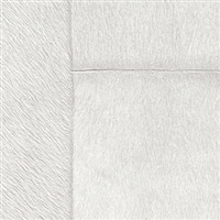 Elitis Indomptee VP 618 18.  Sliver white faux fur embossed wallpaper.  Click for details and checkout >>