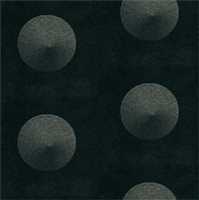 Elitis Glass VP 641 04.  Black and gray polka dot wallpaper.  Click for details and checkout >>