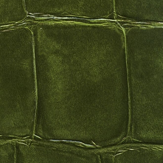 Elitis Big Croco VP 423 30.  Green large scale crocodile embossed vinyl wallpaper.  Click for details and checkout >>
