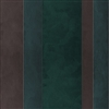 Elitis Tempo TP 210 05.  Green & Brown Multi Colored Wide Stripe Wallpaper.  Click for details and checkout >>