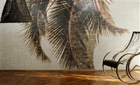 Elitis Raffia Cuba libre VP 603 01.  Tropical palm tree panoramic mural.  Click for details and checkout >>