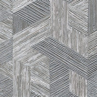 Elitis Formentera VP 718 04.  Silver multicolored mid century textured wallpaper.  Click for details and checkout >>