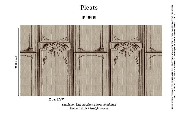 Gray Wood Frame Print Wallpaper Free Shipping