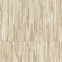 Elitis Formentera VP 715 02.  Tan geometric square vinyl textured wallpaper.  Click for details and checkout >>