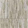Elitis Formentera VP 715 03.  Dirty brown geometric square vinyl textured wallpaper.  Click for details and checkout >>