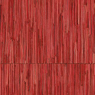 Elitis Formentera VP 715 09.   Ruby red geometric square vinyl textured wallpaper.  Click for details and checkout >>