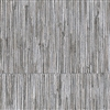 Elitis Formentera VP 716 01.    Metallic silver geometric square vinyl textured wallpaper.  Click for details and checkout >>
