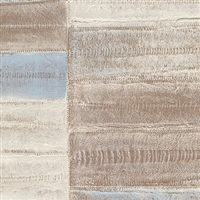 Elitis Anguille Legend VP 425 02.  Tanned faux eel skin wallpaper.  Click for details and checkout >>
