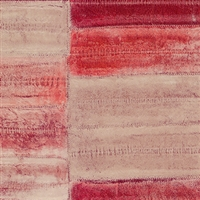 Elitis Anguille Legend VP 425 07.  Aged red faux eel skin wallpaper.  Click for details and checkout >>