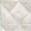 Elitis Pleats TP 172 01.  Cream Tufted Pattern Wallpaper.  Click for details and checkout >>