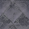 Elitis Pleats TP 172 04.  Gray Tufted Patten Wallpaper.  Click for details and checkout >>