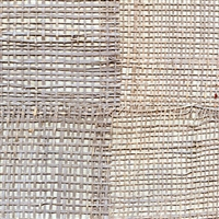Elitis Epure RM 666 12.  Gray handmade burlap wallpaper.  Click for details and checkout >>