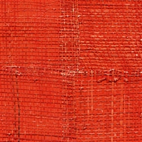 Elitis Epure RM 666 35.  Red handmade burlap wallpaper.  Click for details and checkout >>