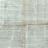 Elitis Epure RM 666 82.  Seafoam green handmade burlap wallpaper.  Click for details and checkout >>