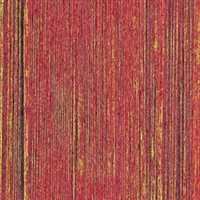 Elitis Pop RM 893 30.  Rustic red vertical stripe handcrafted wallpaper.  Click for details and checkout >>