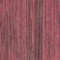 Elitis Pop RM 893 52.  Rosey red vertical stripe handcrafted wallpaper.  Click for details and checkout >>