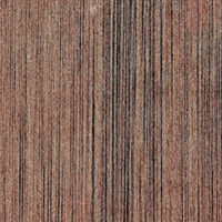 Elitis Pop RM 893 75.  Aged brown vertical stripe handcrafted wallpaper.  Click for details and checkout >>