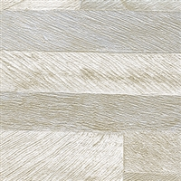 Elitis Nomades VP 893 02.  Reclaimed Weathered Wood Plank Wallpaper. Click for details and checkout >>