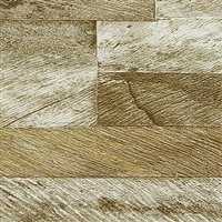 Elitis Nomades VP 893 03.  Reclaimed Weathered Barn Wood Plank Wallpaper. Click for details and checkout >>