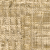 Elitis Rafia VP 601 19.  Straw brown patchwork hand woven texture vinyl wallpaper.  Click for details and checkout >>