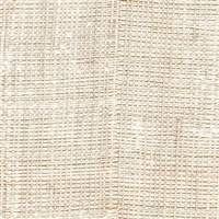 Elitis Rafia VP 601 55.  Sunbleach patchwork hand woven texture vinyl wallpaper.  Click for details and checkout >>