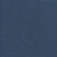 Elitis Parfums Santal VP 770 09. Royal blue linen canvas vinyl wallpaper.  Click for details and checkout >>