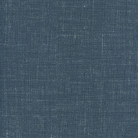 Elitis Parfums Santal VP 770 10. Cobalt blue linen canvas vinyl wallpaper.  Click for details and checkout >>