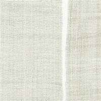 Elitis Nomades VP 894 01.  White silk and linen weave vinyl wallpaper for a wall. Click for details and checkout >>