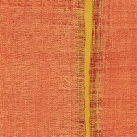 Elitis Nomades VP 895 31.  Pumpkin organge silk and linen weave vinyl wallpaper for a wall. Click for details and checkout >>