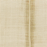 Elitis Nomades VP 895 93.   Khaki stripe silk and linen weave vinyl wallpaper for a wall. Click for details and checkout >>