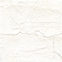 Elitis Epure RM 664 01.  White crackled handcrafted wallpaper.  Click for details and checkout >>