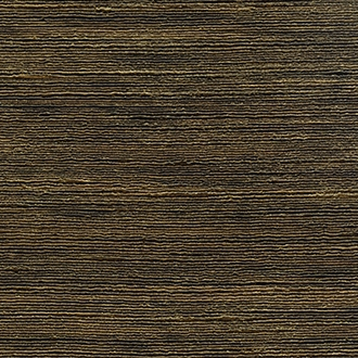 Elitis Talamone VP 850 17.  Dark brown solid color horizontal textured wallpaper.  Click for details and checkout >>