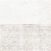 Elitis Epure RM 667 02.  White burlap horizontal stripe wallpaper.  Click for details and checkout >>