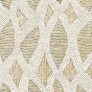 Elitis Topaze Embossed Khaki Lace Modern Designer Vinyl